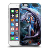 Official Anne Stokes Dragon Friendship 2 Soft Gel Case for Apple iPhone 6 Plus / 6S Plus