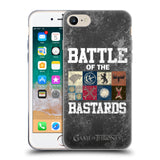 Official HBO Game of Thrones Battle Of The Bastards Soft Gel Case for Apple iPhone 7 / iPhone 8
