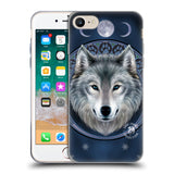 Official Anne Stokes Wolves Soft Gel Case for Apple iPhone 7 / iPhone 8