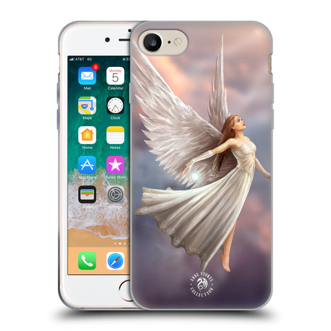 Official Anne Stokes Mermaid And Angels Soft Gel Case for Apple iPhone 7 / iPhone 8