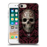 Official Anne Stokes Oriental Skull Soft Gel Case for Apple iPhone 7 / iPhone 8