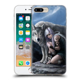 Official Anne Stokes Wolves Soft Gel Case for Apple iPhone 7 Plus / 8 Plus