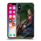 Official Anne Stokes Dragon Friendship Soft Gel Case for Apple iPhone X / iPhone XS