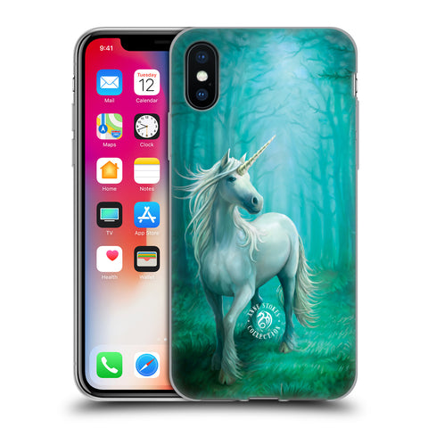 Official Anne Stokes Mythical Creatures Soft Gel Case for Apple iPhone X / iPhone XS