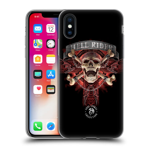 Official Anne Stokes Fire Tribal Soft Gel Case for Apple iPhone X / iPhone XS