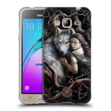 Official Anne Stokes Wolves 2 Soft Gel Case for Samsung Galaxy J3