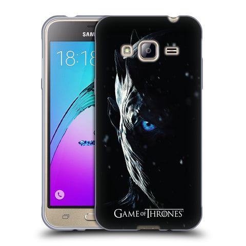 Official HBO Game of Thrones Season 7 Key Art Soft Gel Case for Samsung Galaxy J3