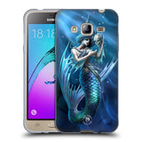 Official Anne Stokes Mermaids Soft Gel Case for Samsung Galaxy J3