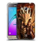 Official Anne Stokes Dragons 2 Soft Gel Case for Samsung Galaxy J3