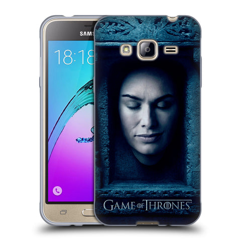 Official HBO Game of Thrones Faces Soft Gel Case for Samsung Galaxy J3