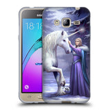 Official Anne Stokes Unicorns 2 Soft Gel Case for Samsung Galaxy J3