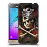Official Anne Stokes Skull Soft Gel Case for Samsung Galaxy J3