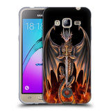 Official Anne Stokes Dragons 3 Soft Gel Case for Samsung Galaxy J3