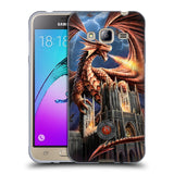 Official Anne Stokes Dragons Soft Gel Case for Samsung Galaxy J3