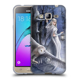 Official Anne Stokes Owls Soft Gel Case for Samsung Galaxy J3