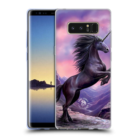 Official Anne Stokes Mythical Creatures Soft Gel Case for Samsung Galaxy Note8