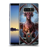 Official Anne Stokes Dragon Friendship Soft Gel Case for Samsung Galaxy Note8