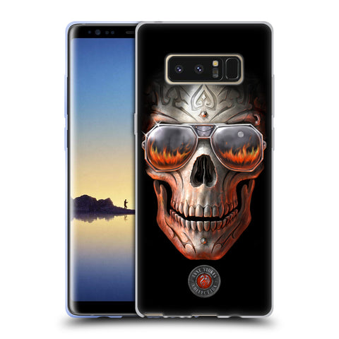 Official Anne Stokes Skull Soft Gel Case for Samsung Galaxy Note8
