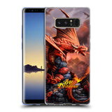 Official Anne Stokes Age Of Dragons Soft Gel Case for Samsung Galaxy Note8