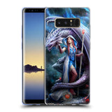 Official Anne Stokes Dragon Friendship 2 Soft Gel Case for Samsung Galaxy Note8