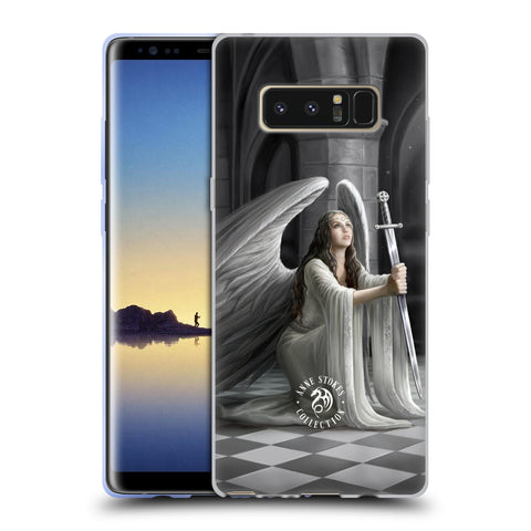 Official Anne Stokes Angels Soft Gel Case for Samsung Galaxy Note8