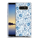 Official Julia Badeeva  Floral Patterns 2 Soft Gel Case for Samsung Galaxy Note8