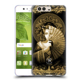 Official Anne Stokes Oriental Skull Soft Gel Case for Huawei P10