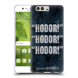 Official HBO Game of Thrones Hodor Soft Gel Case for Huawei P10