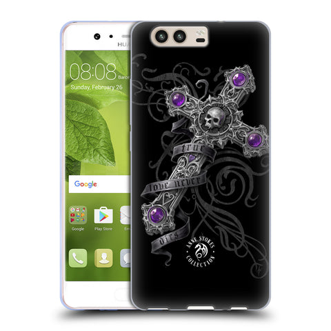 Official Anne Stokes Dark Hearts Soft Gel Case for Huawei P10