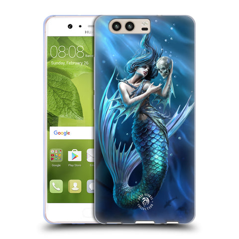 Official Anne Stokes Mermaids Soft Gel Case for Huawei P10