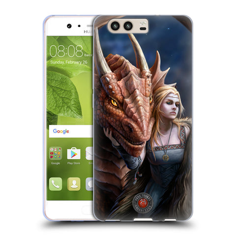 Official Anne Stokes Dragon Friendship 2 Soft Gel Case for Huawei P10