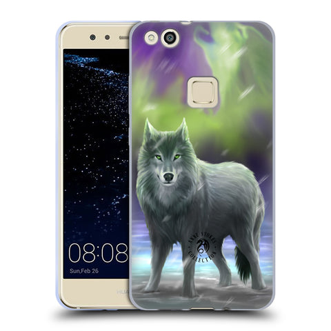 Official Anne Stokes Wolves Soft Gel Case for Huawei P10 Lite
