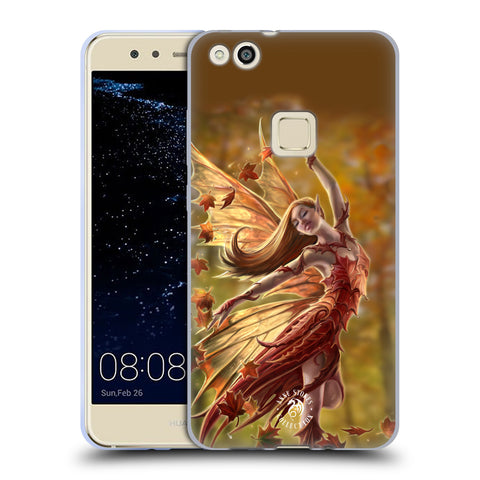 Official Anne Stokes Fairies Soft Gel Case for Huawei P10 Lite