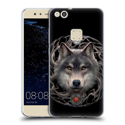 Official Anne Stokes Wolves 2 Soft Gel Case for Huawei P10 Lite