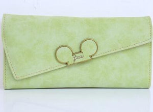Mickey Mouse Color Scrubs Long Womens Wallet