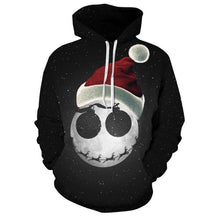 Nightmare Before Christmas Jack Skellington 3D Printed Hoodie