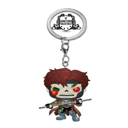 Funko Pocket Pop! Marvel Zombies Gambit Vinyl Keychain