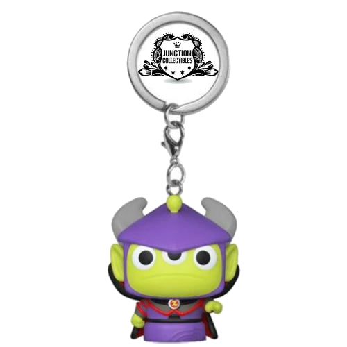 Funko Pocket Pop! Pixar 25th Alien Remix as Zurg Vinyl Keychain