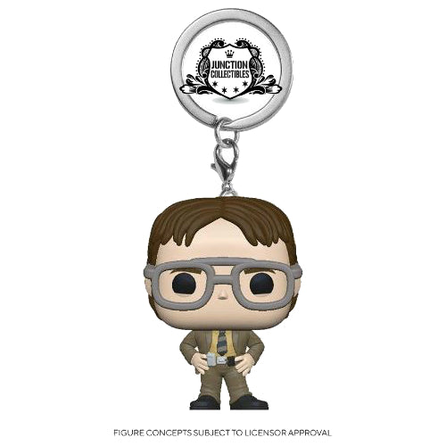 Funko Pocket Pop! The Office Dwight Schrute Keychain