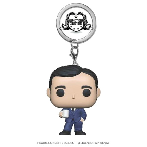 Funko Pocket Pop! The Office Michael Scott Keychain