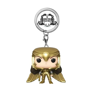 Funko Pocket Pop! Wonder Woman 1984 Gold Power Vinyl Keychain