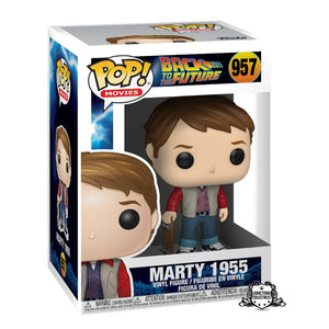 Funko Pop! Back To The Future Marty McFly 1955 Vinyl Figure