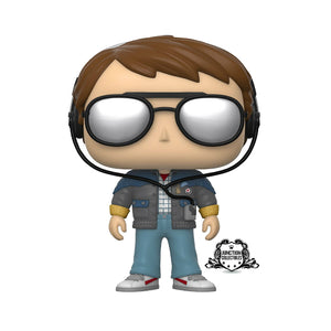 Funko Pop! Back To The Future Marty McFly with Glasses Vinyl Figure