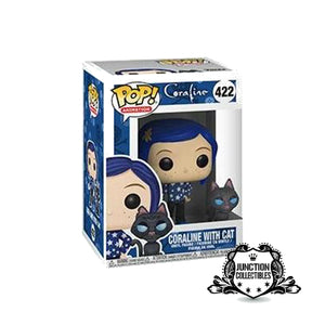 Funko Pop! Coraline w/ Cat Vinyl Figure