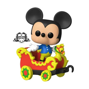 Funko Pop! Disneyland 65th Casey Jr. Car 3 with Mickey Mouse Vinyl Figure