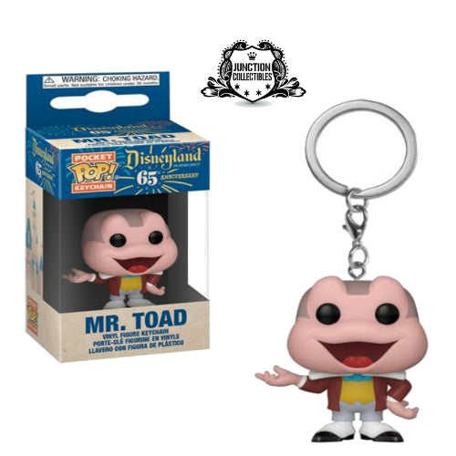 Funko Pocket Pop! Disneyland 65th Mr. Toad Vinyl Keychain