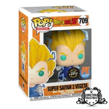 Funko Pop! DragonballZ Super Saiyan 2 Vegeta (Chase) (Previews Exclusive) Vinyl Figure