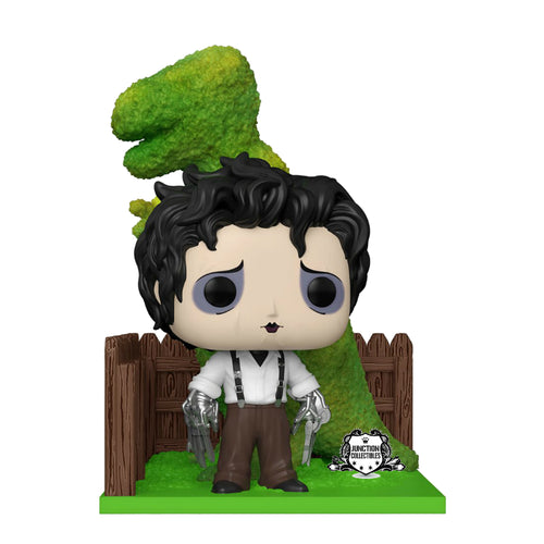 Funko Pop! Edward Scissorhands Edward with Dino Hedge Deluxe Vinyl Figure