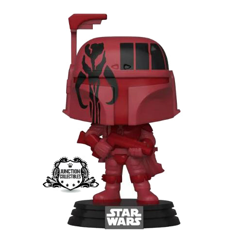 Funko Pop! Star Wars x Futura Boba Fett (Red) (WonderCon 2020/Target Exclusive) Vinyl Figure