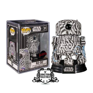 Funko Pop! Star Wars x Futura R2D2 (Exclusive) Vinyl Figure